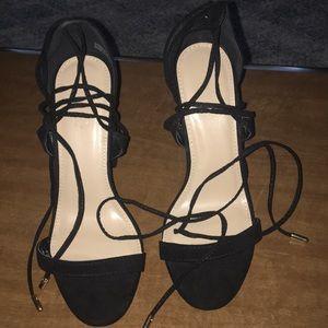 Black heels.  Size 7. Great shape.
